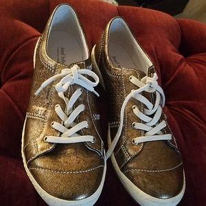 Shoes - Gold Joseph Seibel sneakers